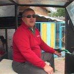 Незрячий чоловік сконструював трактор, на якому їздить (ВІДЕО)