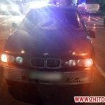 BMW сбил полицейского на пешеходном переходе в Коростене, человек в реанимации