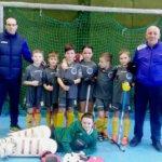 Коростенские хоккеисты завоевали серебро на чемпионате Украины по хоккею на траве в помещении среди юношей