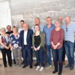 Очередная встреча с норвежской делегацией в Коростене