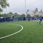 В Коростене открыли реконструированную спортивную площадку по мини-футболу