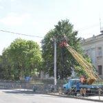 В Коростене проходит реконструкция части ул. Героев Чернобыля (Красина)