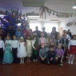 Сьогодні в Михайлівській СЗШ І-ІІ ст. відбулись новорічні святкові заходи