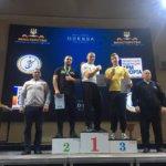 Коростенец — самый сильный мужчина Украины по армрестлингу