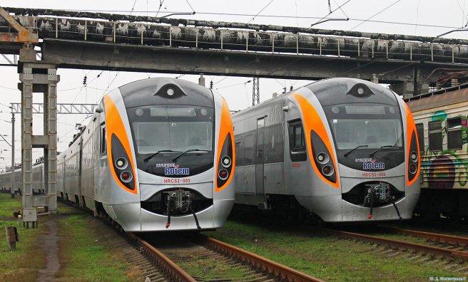 поїзд інтерсіті коростень