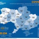 В Україні станом на 17.06  підтверждено 33 234 випадки COVID-19