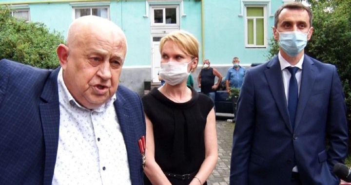 ляшко звільнив санітарного лікаря житомирської області