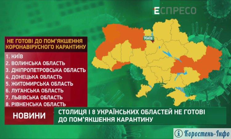 Коронавірус Житомирська область