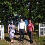 Гуманітарна допомога жителям села Сарновичі