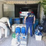 У Житомирі та Андрушівці правоохоронці виявили виготовлення фальсифікованої алкогольної продукції