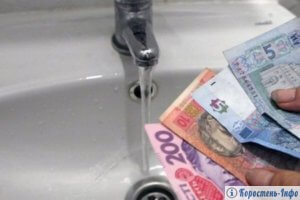 вартість води коростень